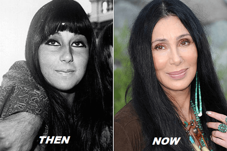 Cher Young vs Old