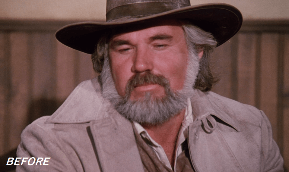 Kenny Rogers Before Plastic Surgery