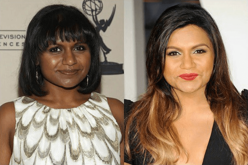 Mindy Kaling Surgery Before After