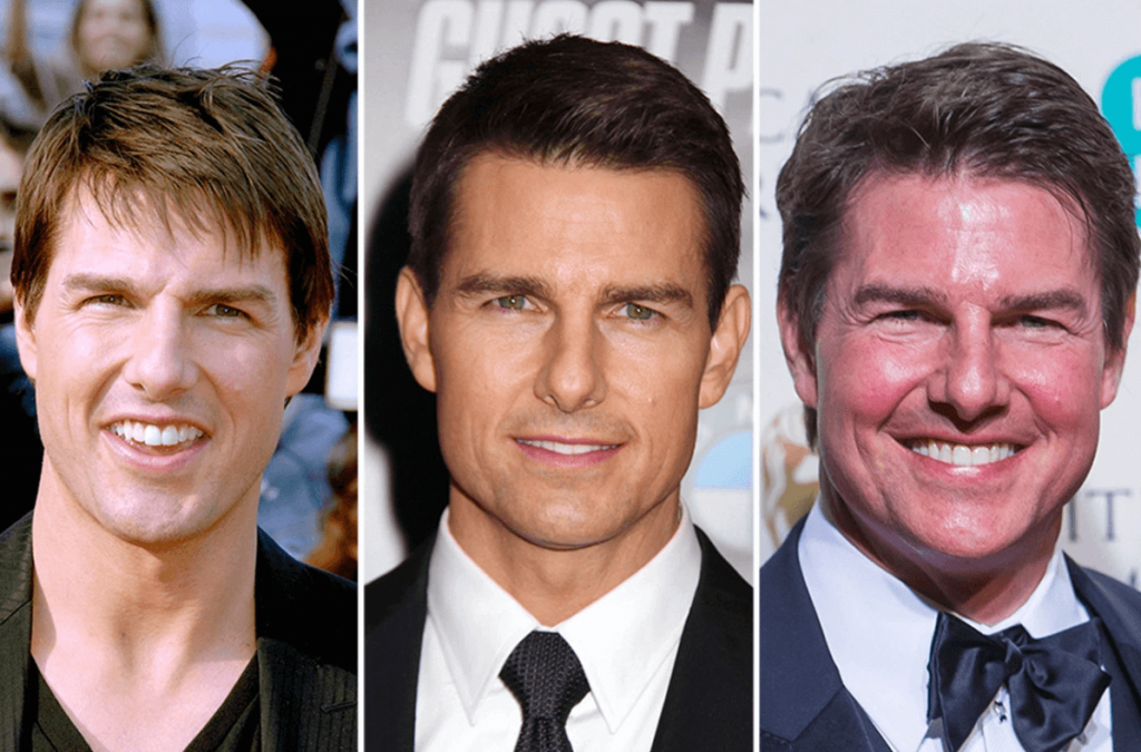 Tom Cruise Face Transformations