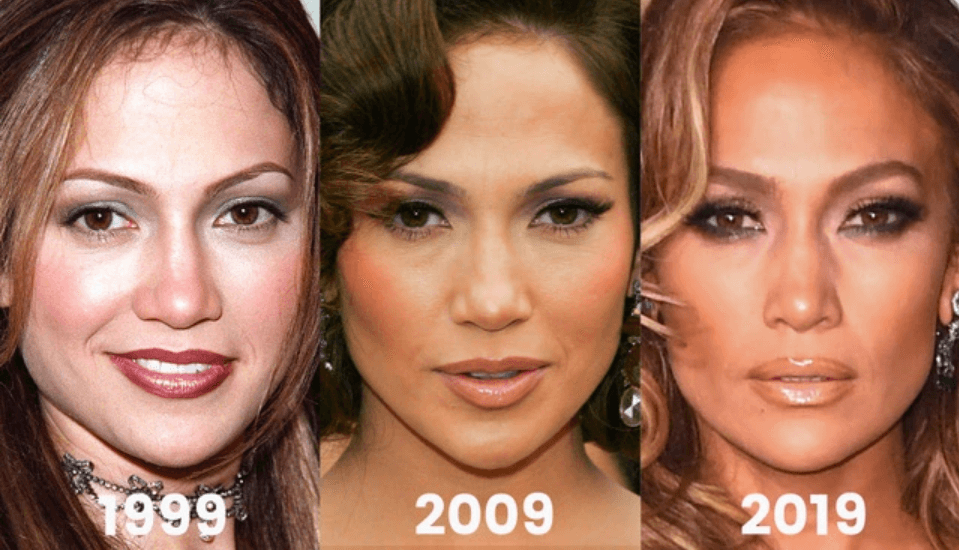 Jennifer Lopez Before and After
