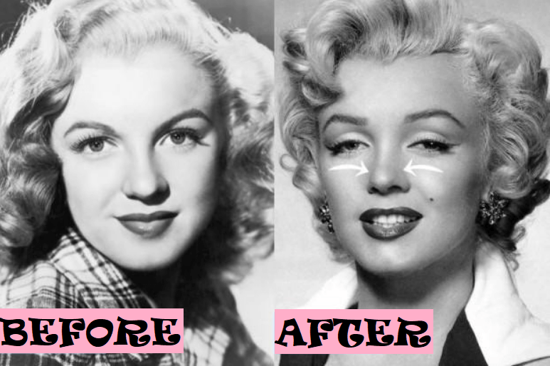Marilyn Monroe Plastic Surgery Rumor: Before and After Photo